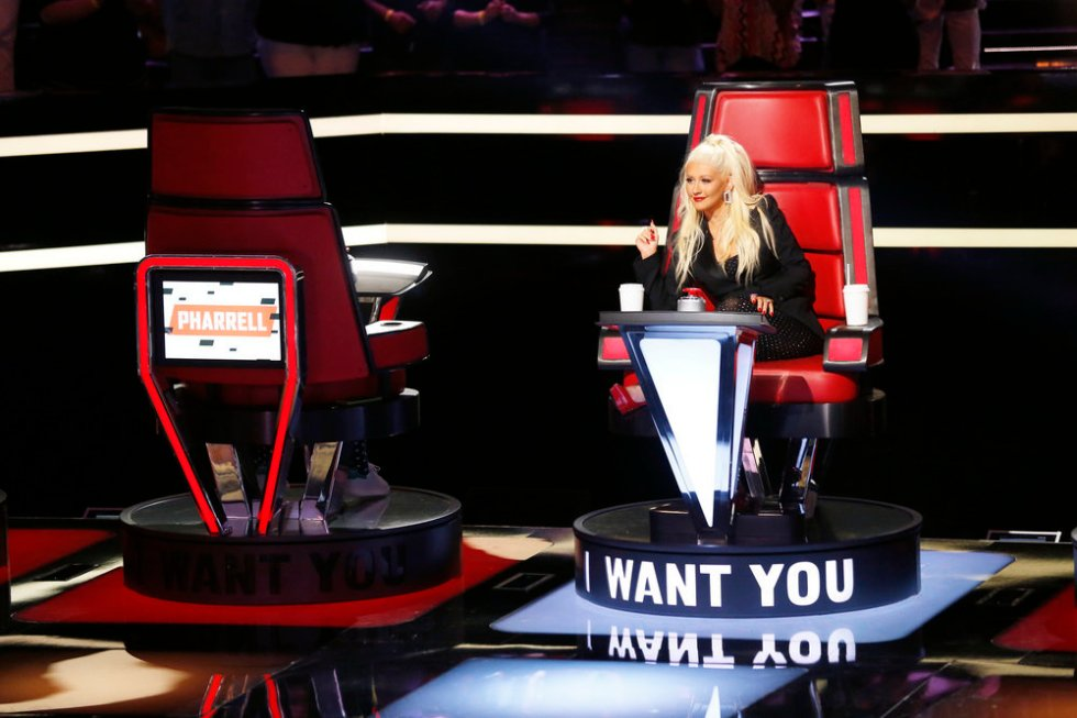 THE VOICE -- Blind Auditions -- Pictured: Christina Aguilera -- (Photo by: Trae Patton/NBC)